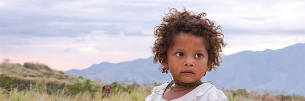 Aeta child along Mt. Pinatubo