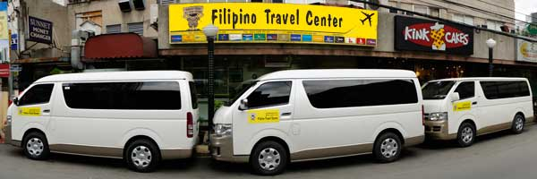 Transportation to Mount Pinatubo