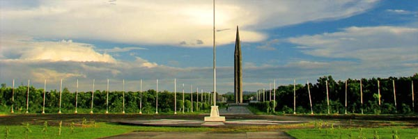 View of Capas National Shrine